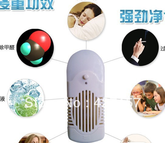 Гаджет  SH-1002 negetive  air purifier and ozone generator with  night led bulb None Бытовая техника