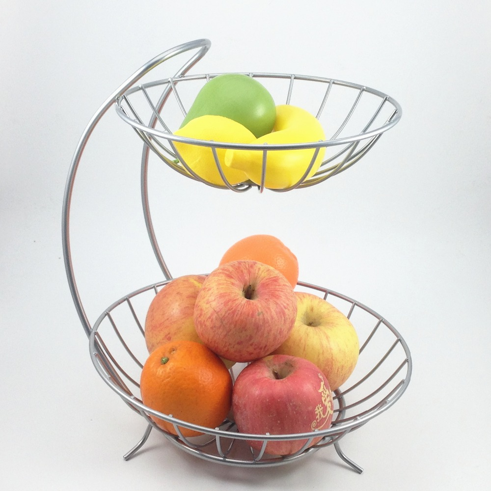 Buy Creative Round Stackable Folding Fruit Bowl Plate