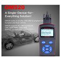 OBDMATE OM520 OBDII EOBD Autophix Scanner Tools Car Detector Code Reader LCD Display Diagnostic Tool Upgrade