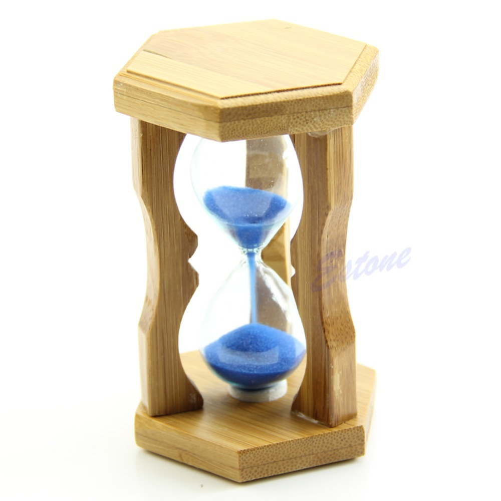 L109Cute Frame Sand Glass Sandglass Hourglass Timer Clock Time Decor Gift 1 Minute(China (Mainland))
