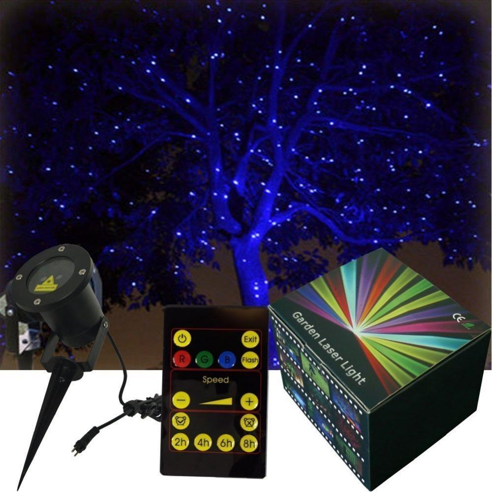 Waterproof smart christmas light elf light star laser show for 6 star window christmas decoration lights