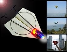 Avion de contrôle à distance 2.4 GHz sans fil télécommande avion en papier avec télécommande drone avion(China (Mainland))