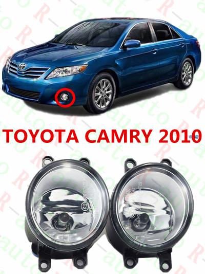 For toyota CAMRY 2010+  cars Exterior  Front bumper light  Original  Fog Lights  1 set  (Left + right)    81210-06052(China (Mainland))