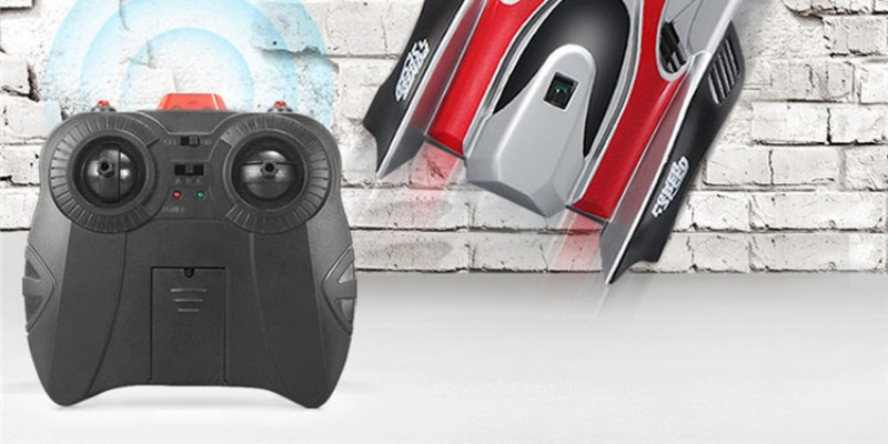Hot Sell DHD-C1 Pro Remote Controller RC Wall Climber Racing Car Anywhere Floors Wall Useful RC Electric Toys VS 000322