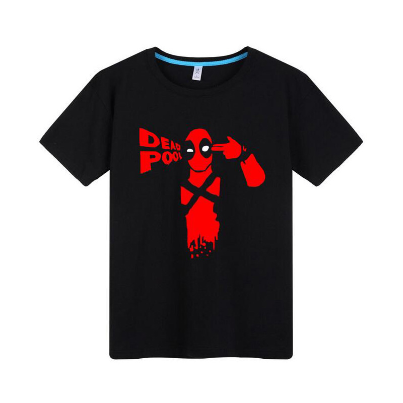 funny superhero deadpool t shirt men printed t shirt homme costume x men t shirt cd0682 in t. Black Bedroom Furniture Sets. Home Design Ideas