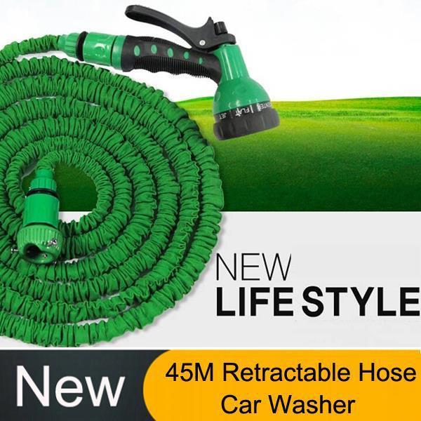 45M Plastic Retractable Hose Water Guns Garden sprayer Gun Pressure