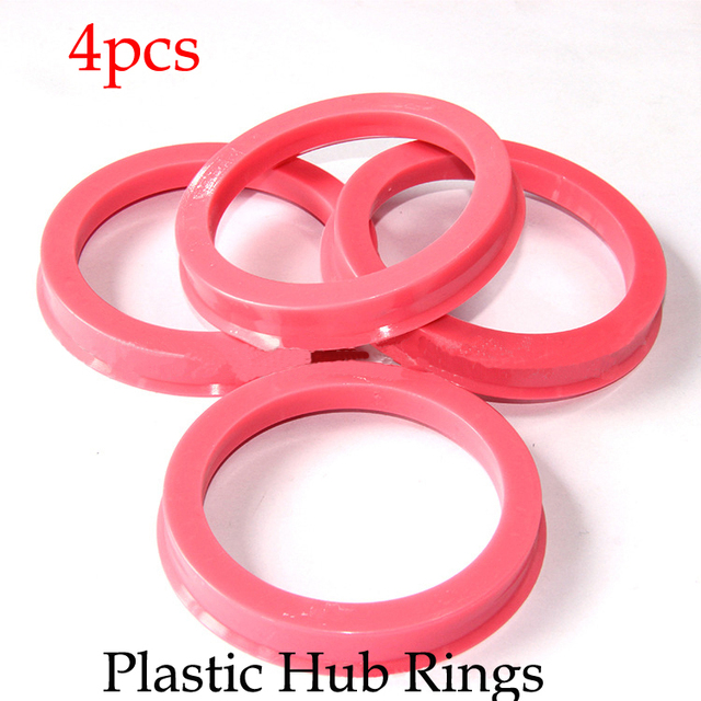 Plastic Ring Spacers : New plastic hub rings for cars wheel spacers center hole