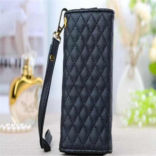 Luxury Universal Credit Card Holder Flip Wallet Leather Purse Cover Alcatel One Touch Idol 2 Mini S 6036 6036Y case - INSOU Official Store store
