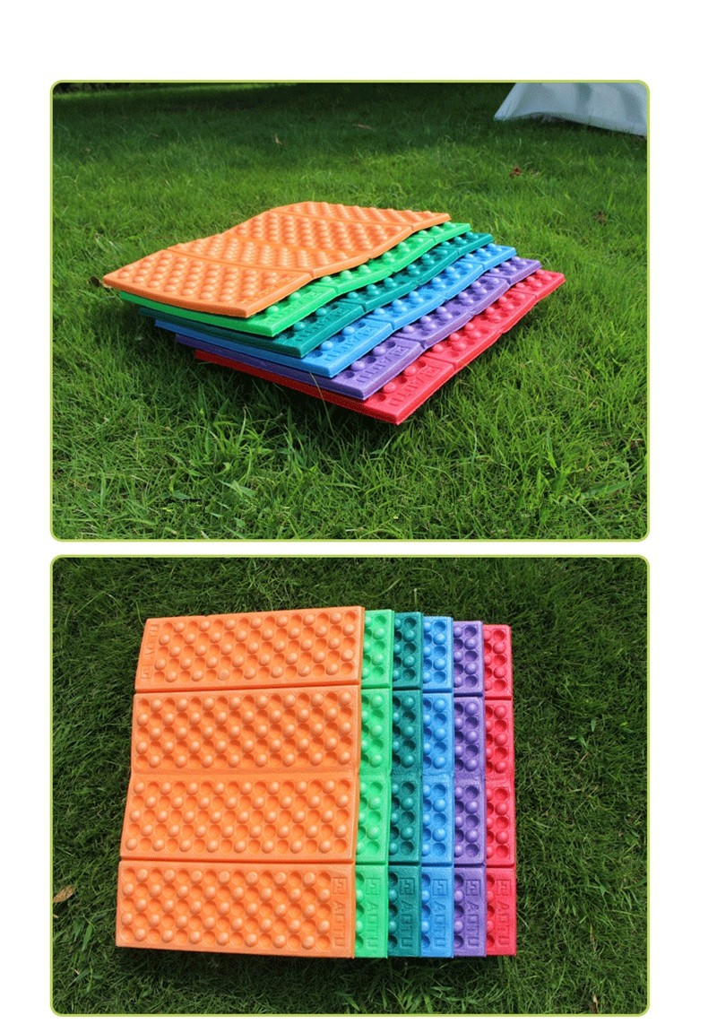 CM017 015 Portable Folding Foldable Foam Outdoor Seat Accessory Waterproof Chair Cushion Pad Mat Outdoor Camping Mat