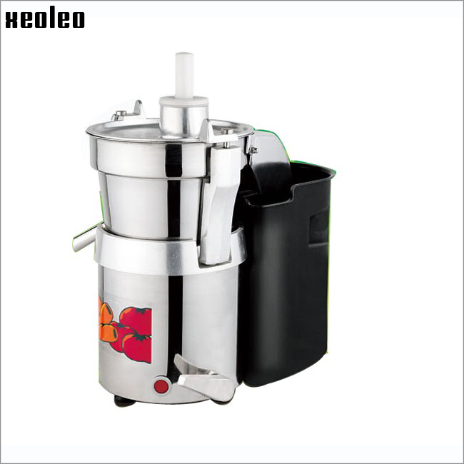 Xeoleo Commercial Juicer Machine Stainless steel centrifugal juicer automatic pulp Ejection function 750W Juice Extractor<br><br>Aliexpress