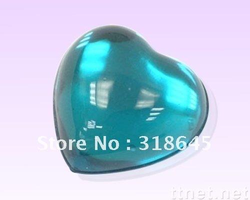 Crystal Clear Color 3mm 4mm 5mm 6mm Taiwang Acrylic Flatback Rhinestone Gems Heart crystal