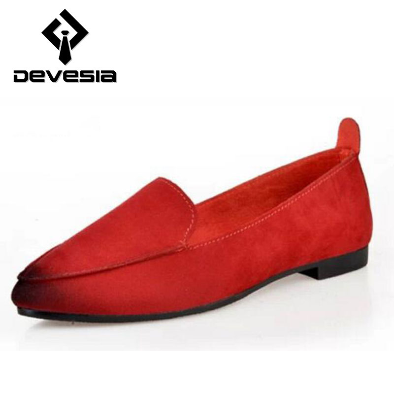 Women Flats 2016 New Womens Fashion Spring Summer Style Casual Cold Loafers Shoes Slip On
