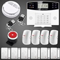 Free shipping Upgraded Latest Wireless GSM Alarm system Home Security Alarm Systems LCD Keyboard English Spanish