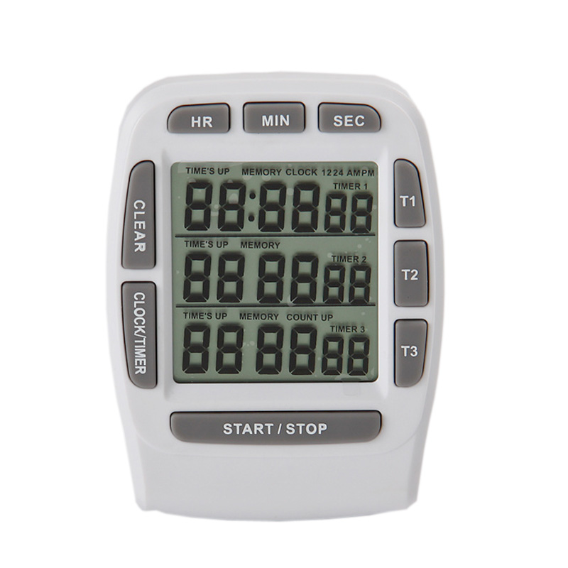 Free Shipping!China Factory Digital Smart Cooking Tools Kitchen Timers Count Down/Up Clock(China (Mainland))
