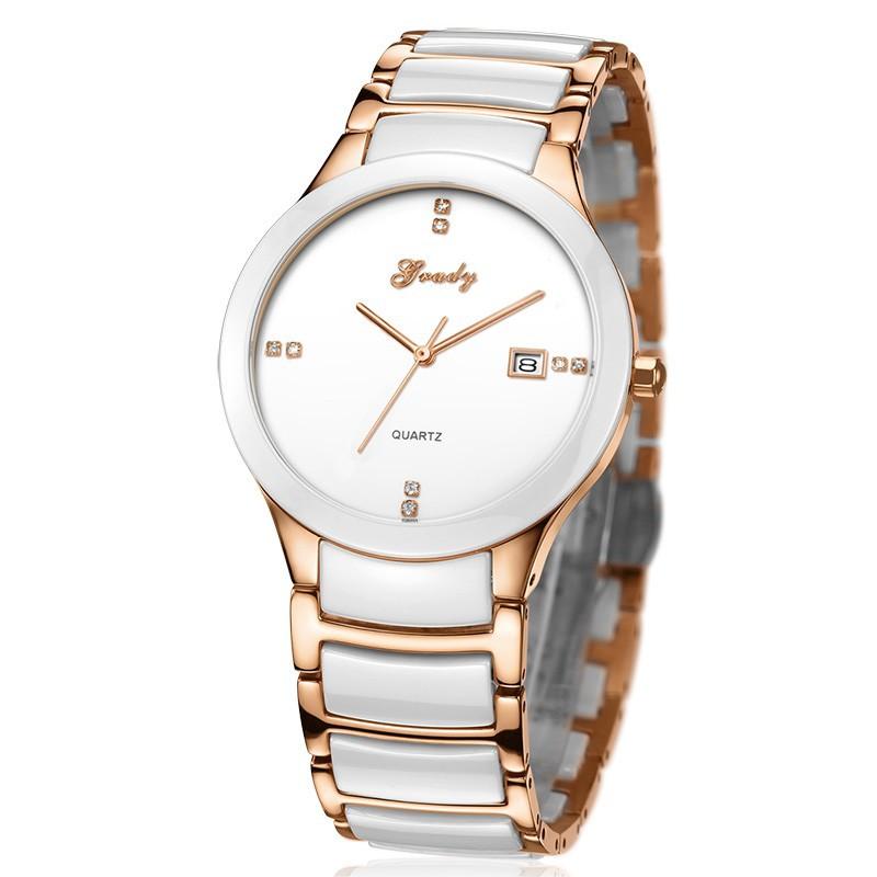 Новое Поступление Грейди Керамические Часы Мужчины Люксовый Бренд Часы мужские Часы Водонепроницаемые Кварцевые Часы Наручные Часы