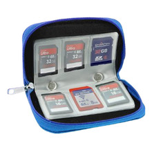 Beautiful Gitf New Potable Memory Card Holder Carrying Case Bag for SDHC and SD Cards organizer 5 color Free Shipping(China (Mainland))