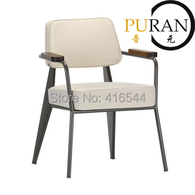 Jean Prouve Fauteuil Direction.Well designed chair.Home chair,office chair.Living room chair - Modern Design store