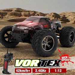 RC Car 2WD RC Remote Control Car Buggy Electric Rock Racer Desert Off-Road Truck 2.4GHz Radio Control System RTR Baja Roadblock