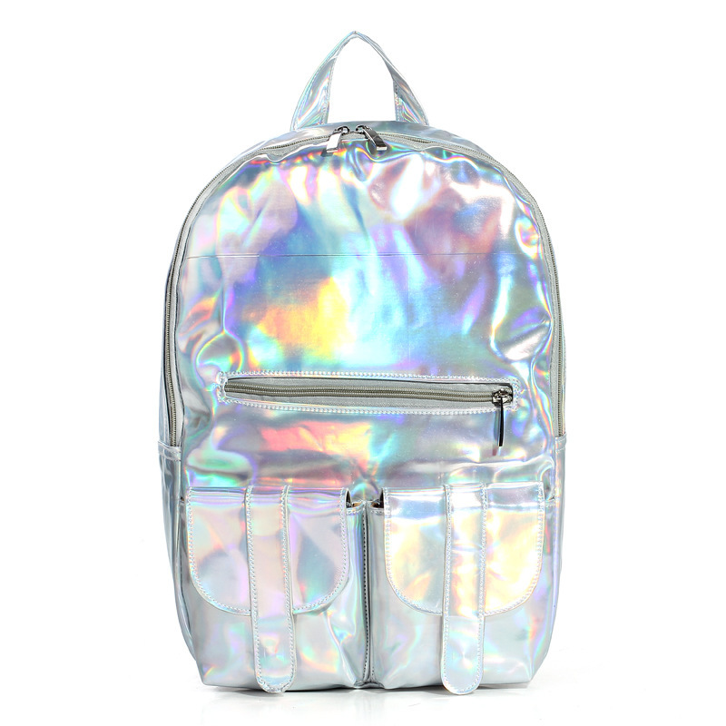 College Bags Pakistan Silver College School Bags