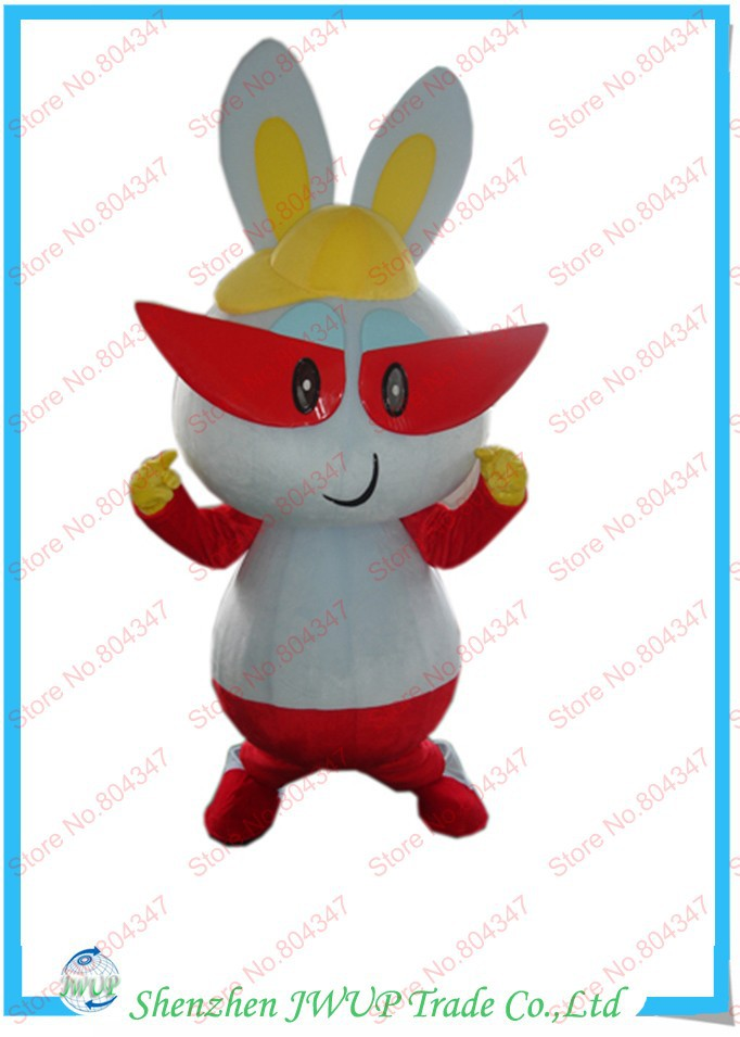 Rabbit Cartoon Costume Inflatable Costumes Mascot Halloween - Shenzhen JWUP Trade Co., Ltd store
