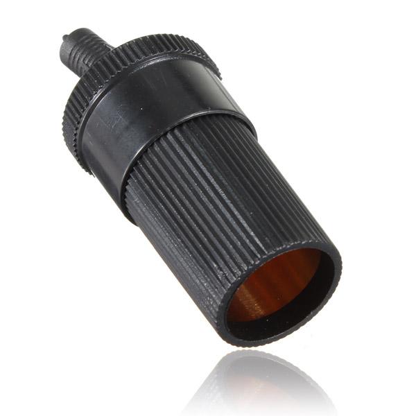 New 12V/24VDC Female Car Cigar Cigarette Lighter Socket Plug adapter Connector(China (Mainland))