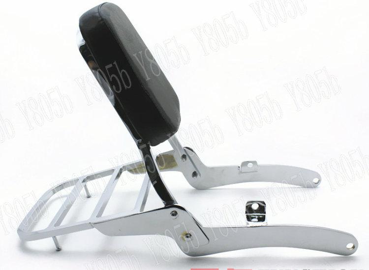 Backrest And Luggage Rack For A  Yamaha Virago