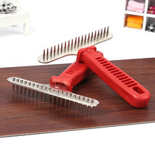 Product For Dog Medium size Dog Comb Steel Pet Open Knot Comb For Dogs Long Hair And Thick Hair Special Big Dog Metal Rake Comb