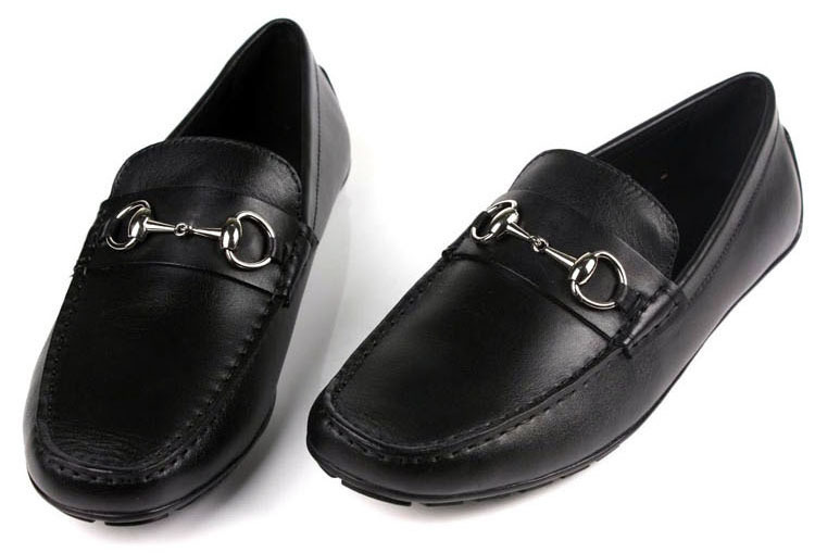 Free shipping 2014 new men oxfords shoes slip-on top grade genuine leather attractive and durable casual shoes size:6.5-11 OX289<br>