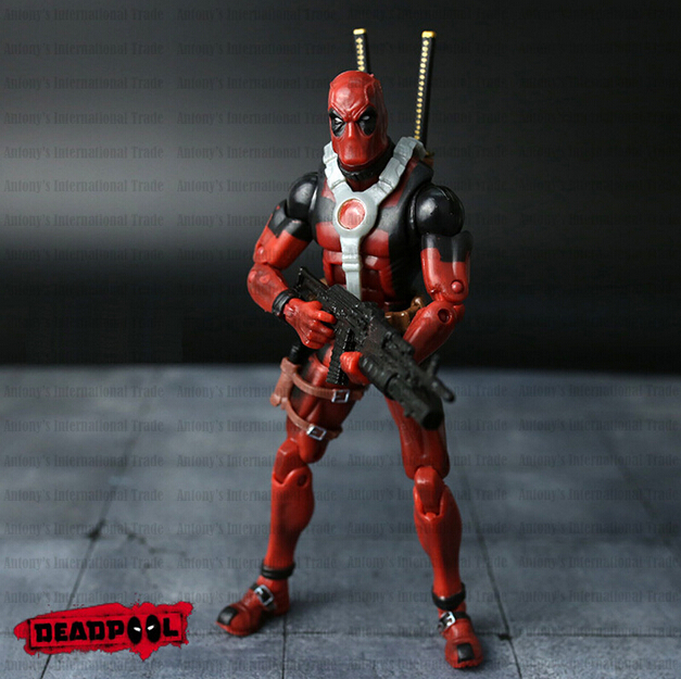 NEW hot ! 20cm Super hero Justice league X-MAN Deadpool action figure toys Christmas toy<br><br>Aliexpress