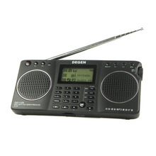 4GB 8 in 1 Portable Multifunctional LED STEREO Radio DSP Receiver  Handle 3 Bands DEGEN DE1128 A0908A  alishow