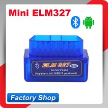 Latest version super mini elm327 bluetooth OBD2 Scanner ELM 327 Bluetooth Smart Car Diagnostic Interface ELM 327 V2.1 Scan(China (Mainland))
