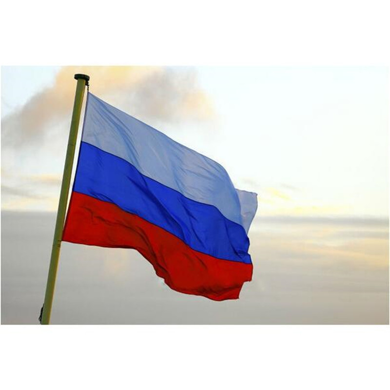 90 150cm Russian National Flag Hanging Flags For Home Office Decor Activity Parade The World Cup