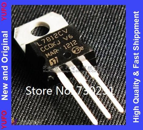 1L7812CV TO-220 L7812 LM7812 7812 Positive-Voltage Regulators LDO Original - New & store