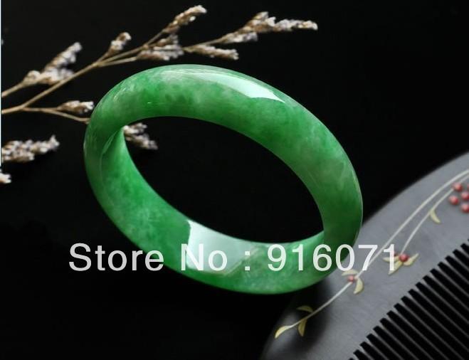Beautiful jade jade bracelet natural green jade