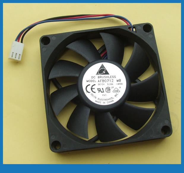 DC 12V CPU Cooling FanS 70mm x 15mm Brushless Blower