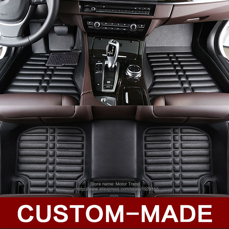 custom fit car floor mats for toyota camry rav4 prius prado highlander sienna zelas verso 3d car. Black Bedroom Furniture Sets. Home Design Ideas