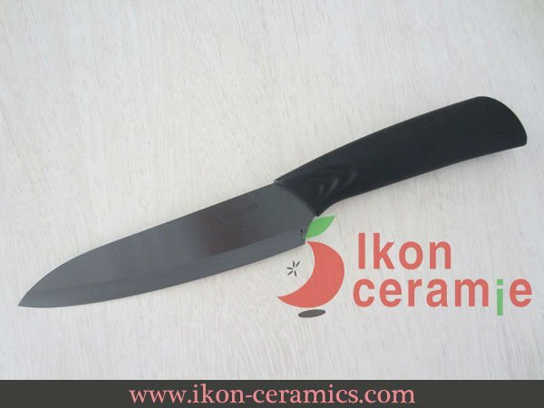 "Free Shipping! High Quality Zirconia New 100% Ceramic Knife 6.5"" AJX Ceramic Chef Knife(AJ-6.5B-CB)"
