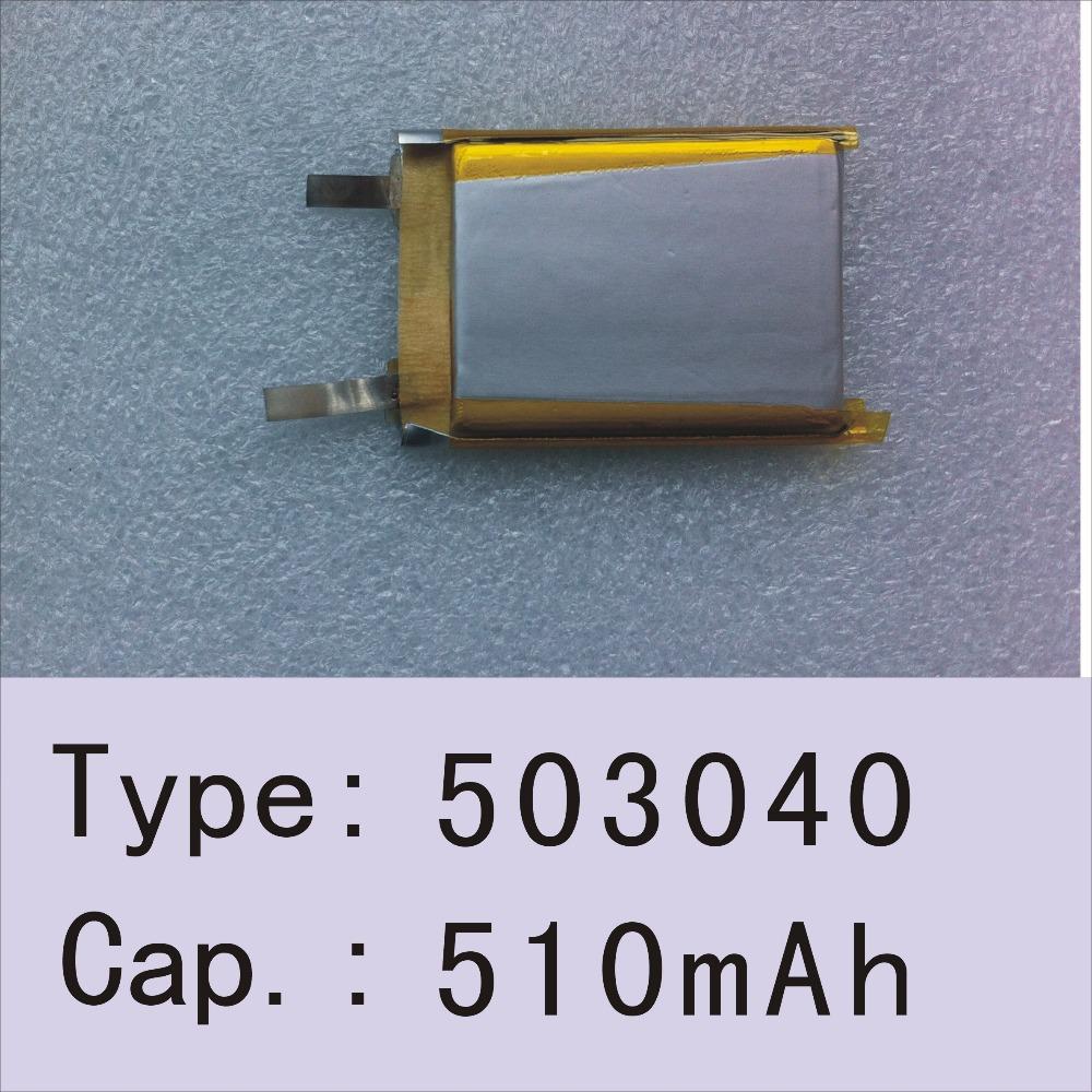 HICON type503040 напряжения 3.7V потенциала 510mah