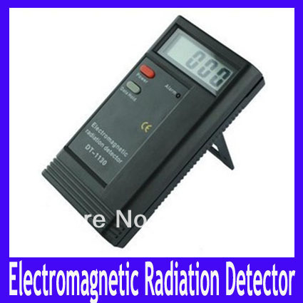 EMS Free shipping Digital Electromagnetic Radiation Detector Meter 50Hz-2000MHz,DT-1130 Radiation EM Meter Dosimeter ,5pcs/lot