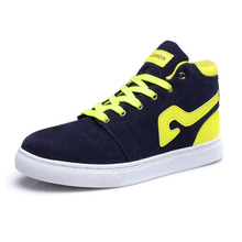 2014 fashion Suede men shoes sneakers mens sport shoes for autumn(China (Mainland))