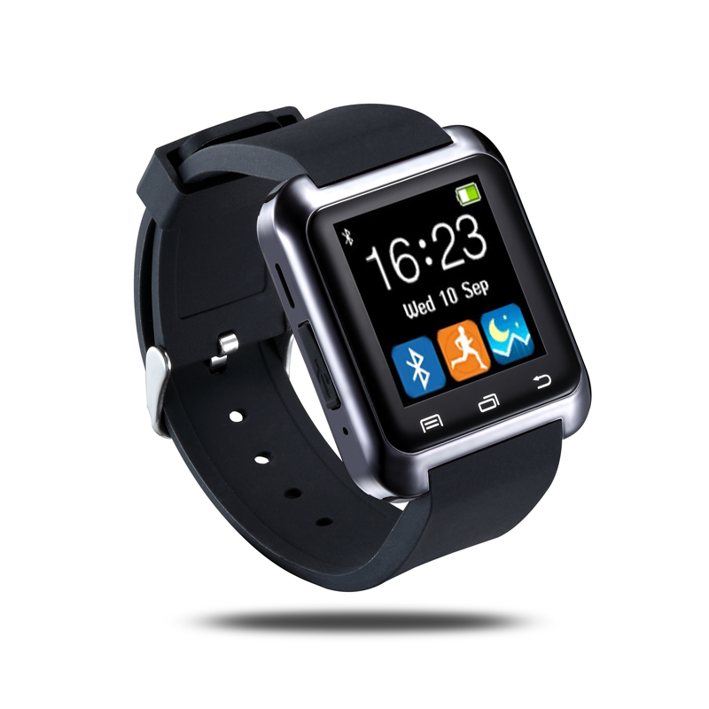 2016 Hot U80 Bluetooth Smart Watch Fashion Android Watch Sport Wrist LED Watch Pair For iOS