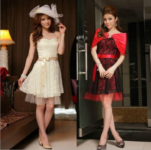 Dress For Women Lace Tube