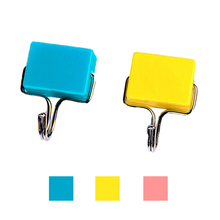 Free Shipping 1pcs Quality lovely ultra-powerful magnetic fridge door cabinet 2kg tools clothing strong hook hanger(China (Mainland))