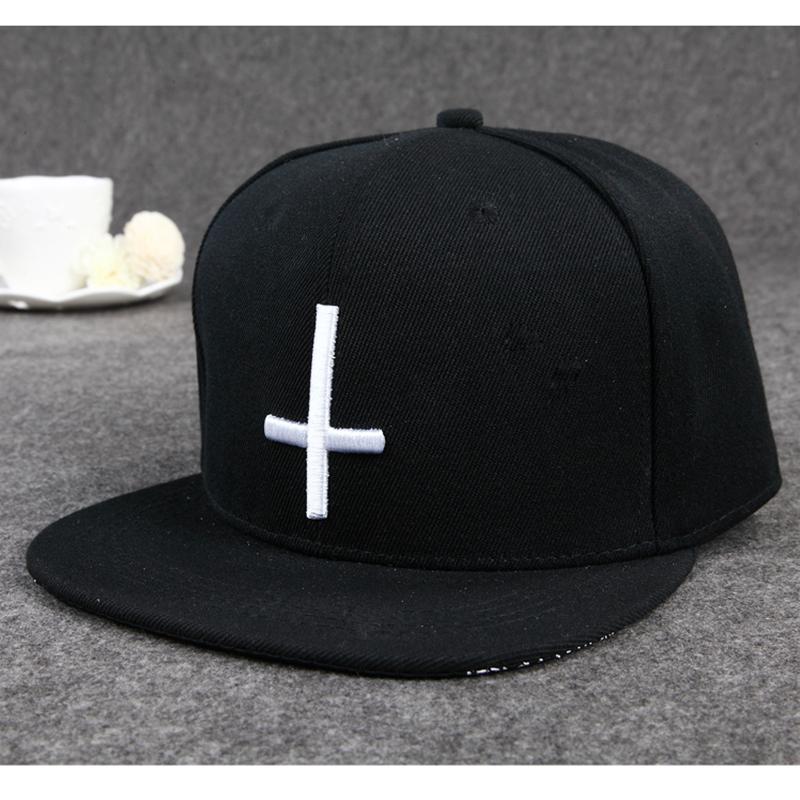 Simple And Stylish !! Unisex Solid Snapback Cap Hi...
