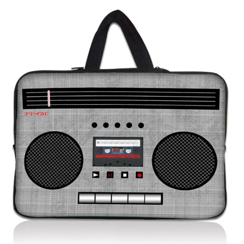 """10"""" Cassette Tape Laptop Carrying Bag Case Sleeve For 10.1"""" Samsung Galaxy Tab 2(China (Mainland))"""