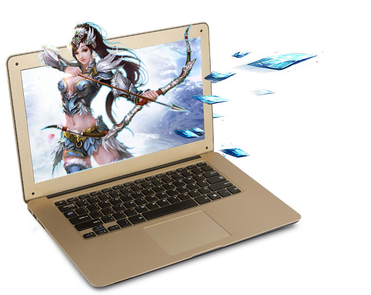 2015 Cheap Laptop Computer 14 Inch HD Screen Intel Celeron Dual Core 2.41GHz 4GB 500GB HDD WiFi HDMI Webcam Windows 7/8 notebook(China (Mainland))