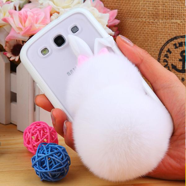 Brand New Phone cases Cute Rex Rabbit Long Hair case Samsung Galaxy Note 4 Cover Lovely Fashion Coverring Mobile phone - Shenzhen E-go Trade Co. store