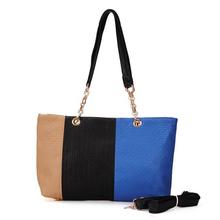 2016 Fashion Dandelion Women Color Block Patchwork Handbag Shoulder Bags Women Messenger Bags SY-001