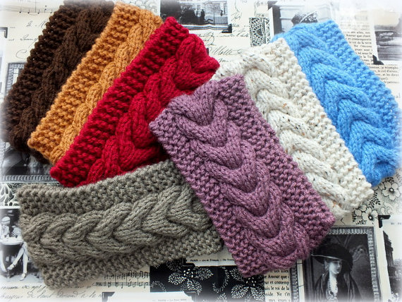 2015 Women's Girl's Crochet Headband Knit hairband horoscope Winter Ear Warmer Headwrap JK011(China (Mainland))