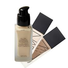 Top Quality souple mat tous les jours de la marque MAKE UP lumineuse MINERALIZE fondation fond de teint liquide Base de maquillage 6 ombres Maquiagem(China (Mainland))